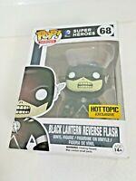 Funko POP! DC Comics BLACK LANTERN REVERSE FLASH #68 Hot Topic Exclusive NM Box