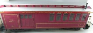 G Scale Bachmann ATSF Mail/Combine Passenger #24