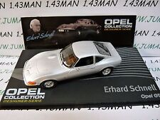 OPE121R voiture 1/43 IXO designer serie OPEL collection : GT E.Schnell