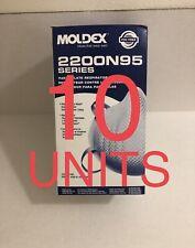[10 Pack] New Moldex 2200 N Grade 95 (M/L Size)