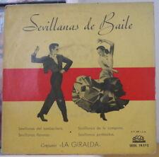 CONJUNTO LA GIRALDA SEVILLANAS DE BAILE SPAIN PRESS EP REGAL