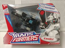 Transformers Animated Shockwave New 4 modes Voyager Class.