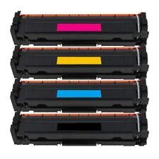 4 x Compatible Toner HP 410A/410X CF410X,CF411X,CF412X,CF413X Cartridge FULL SET