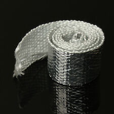 1M Motorcycle Chrome Exhaust Thermal Heat Wrap Manifold Downpipe Project Temp