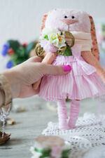 Bunny girl viscose toy Teddy rabbit