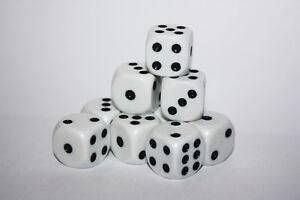 Würfel: W6-Augen - Brettspiele - Spielwürfel - Mathematik - Lernhilfe - Random