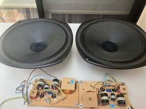Tannoy 15 inches coaxial speakers from i15 cabinets with crossovers