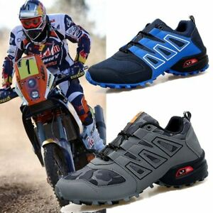 Men Bicycle Shoes MTB Non-locking Bike Shoes  Race Motocros Motorbike Sneakers