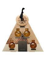 Caffè Co.Sciroppo Piramide Set Di 4 60ml Aromatizzato Bottiglie Sciroppi Topper