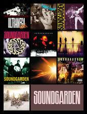 "SOUNDGARDEN album discography magnet (4.5"" x 3.5"")"