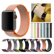 Unisex Nylon Strap For Apple Watch Series 4 3 2 1 38/42/40/44mm Sport Loop Band