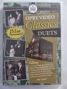 OPRY VIDEO CLASSICS DUETS 15 Live Performances DVD Music Concerts FREE POSTAGE