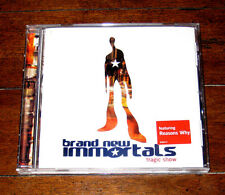PROMO CD: Brand New Immortals - Tragic Show 2001 Reasons Why Follow for Now VG+