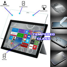 100 Genuine Tempered Glass Screen Protector Cover for Microsoft Surface Pro 3