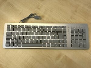 Sony Vaio VGC-JS Series USB Keyboard VGP-UKB3ES Spanish 148099521 Keyboard