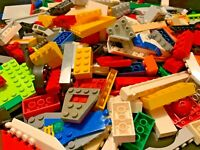 1 pound LBS of Bulk Legos! Cleaned Sanitized Bricks & other assorted pieces Lot