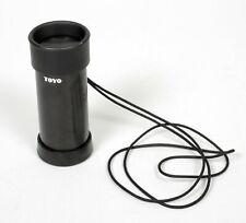 Toyo 3.6X ground glass loupe magnifier