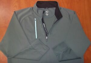 Zero Restriction Tour Series Performance Stretch 1/2 Zip Pullover Ls Shirt XXL