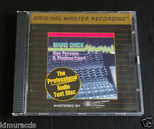Professional Audio Test Disc by Stephen Court/Alan Parsons, MFSL 24K Gold CD, NM