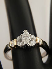 Marquise High Quality Diamond Engagement Ring Gorgeous 1.17 tcw F/VS Platinum