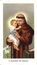"""Pensiero immagine immagine sacro preghiera Immagine Holy card """"h3862"""" S. Antonino poiché Padova"""