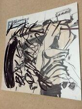 "Ashley Wood FI Original Popbot Art ThreeA Threezero T P Louise ""Black Puddin"""