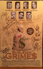 BURLEIGH GRIMES Cast Signed Off Broadway Poster Windowcard