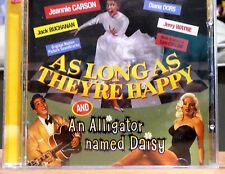 As Long As They're Happy/An Alligator Named Daisy by Jeannie Carson (CD) LC@