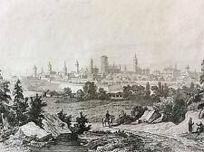 Napoléon Bonaparte Empire bataille napoléonienne Dantzick XIX 1837 France