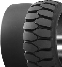 2 TIRES 700X12-5 SOLID BLACK TRACTION FORKLIFT TIRES 7-12-5 TIRE 7.00X12x5 Rim 5