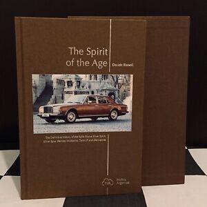 THE SPIRIT OF THE AGE BOOK NEW ROLLS-ROYCE SILVER SPIRIT SPUR BENTLEY MULSANNE R