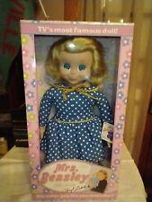 Ashton Drake Mrs. Beasley Talking Doll 2000 Family Affair Nib w/ Shipping Box