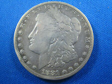 U.S.  1881S  MORGAN DOLLAR    (cnm$10)