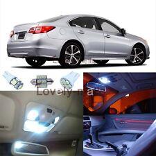 Premium Xenon White Lights SMD Interior LED Package for Subaru Legacy 2010-2015