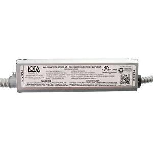 IOTA I-42-EM-A-TBTS-SERIES-AC FLUORESCENT CFL EMERGENCY BALLAST, 120/277V