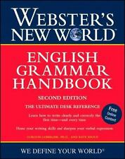 Webster's New World English Grammar Handbook by Kate Shoup, Shoup and Gordon...