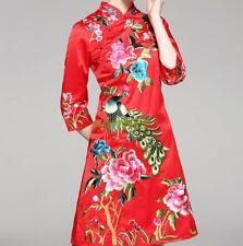 Women's Evening Dress Ball Chinese Short Cheongsam Qipao Traditional Slim Dress