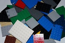 LEGO 45 x PLATE MIXED SIZE AND COLOUR 3030, 3032, 3033, 3036, 30504, 6179, 92089