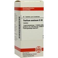 THALLIUM ACETICUM D 30 Tabletten 80 St PZN 2808367
