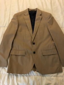 J.Crew Ludlow Suit Jacket in Italian Chino, Khaki, 38S, NWT!, See Pics!