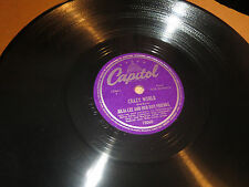 78RPM Capitol 15060 Julia Lee, That's What I Like / Crazy World high grade E