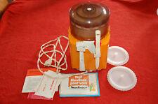 Moulinette electrique moulinex vintage orange - bon état