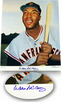 Willie McCovey autographed signed Giants 16x20 lithograph litho #/100 Real Deal
