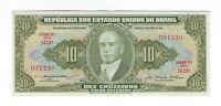 10 Cruzeiros Brasilien 1956 C078 / P.159c - Brazil Banknote