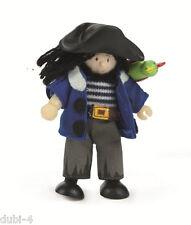 Le Toy Van - Budkins BK997 - Biegepuppe Pirat Jolly für Puppenhaus