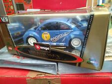 1/18 BURAGO VW NEW BEETLE CUP 2000 Gold Collection #1 Neuf En Boite
