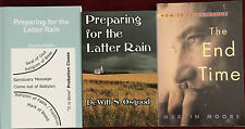 SDA 3-Book Bundle Addressing the Latter Rain and End Time Events Adventist Books