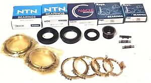 BEARING KIT WITH SYNCHRO RINGS WILL FIT 97-01 NISSAN MAXIMA NON-POSI / BK182HWS