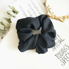 Trendy Lady Hair Scrunchie Ring Elastic Pure Color Bobble Sports Dance Scrunchie