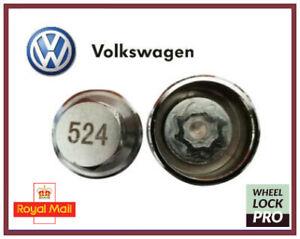 New Volkswagen VW Locking Wheel Nut Key Number 524 'D' - UK Seller